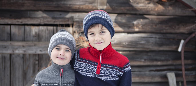 eac40785 Ullvotter Marius Marineblå barn - Marius Kids - Recreo.no - gaver på nett