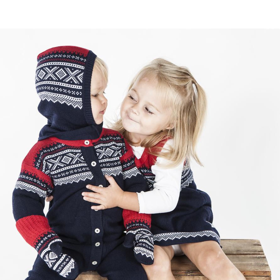 d5669981 Ullvotter Marius Marineblå barn - Marius Kids - Recreo.no - gaver på ...