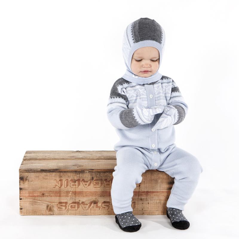 e142a229 Ullvotter Marius Lys blå barn - Marius Kids - Recreo.no - gaver på nett
