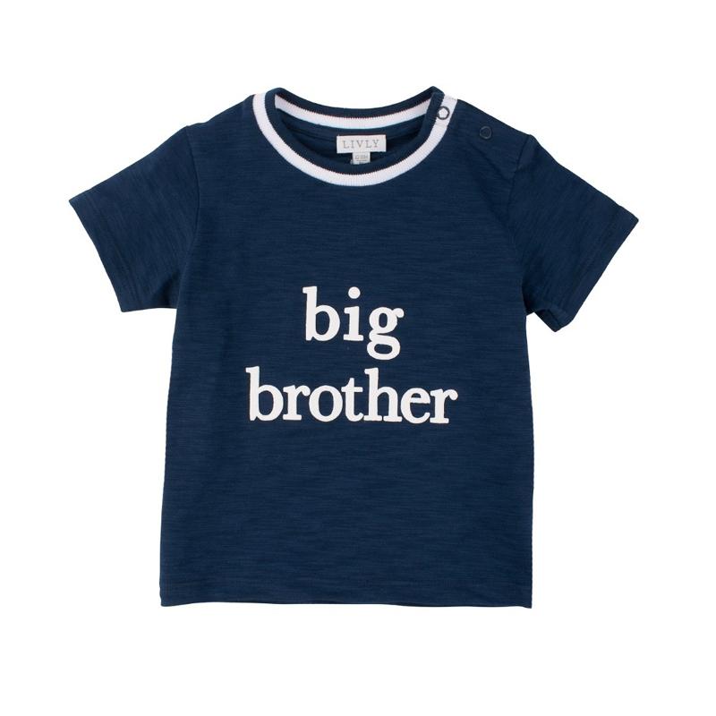 827876e5 Ullvotter Marius Marineblå barn - Marius Kids · T-skjorte BIG BROTHER blå -  Livly ...