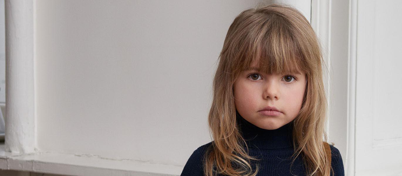 T skjorte Barn Beige m prikker Blå FUB Recreo.no